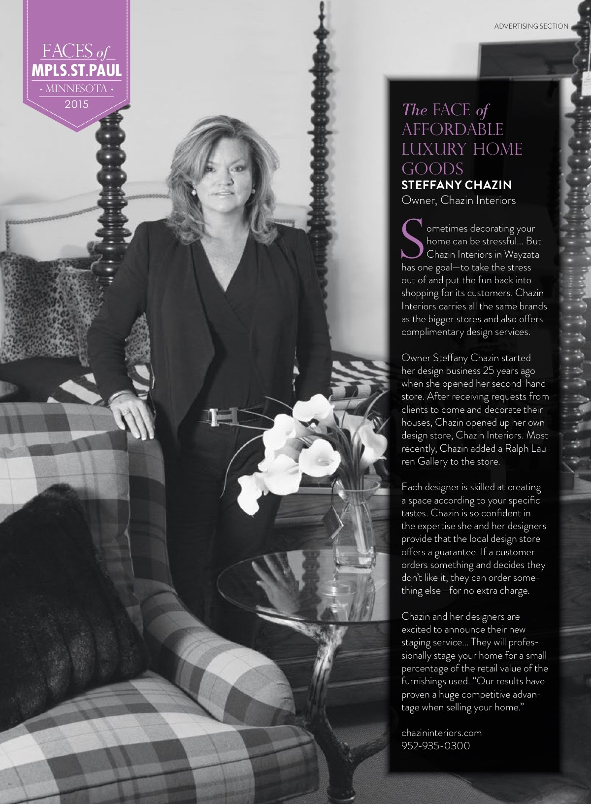 Steffany Chazin Mpls St Paul Magazine Interior Design Home Staging